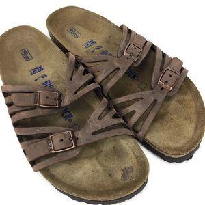 Birkenstock Granda Oiled Leather Size 38